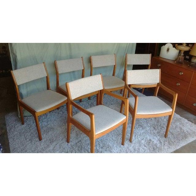 D-Scan Vintage Teak Dining Chairs - Set of 6 - Image 3 of 9