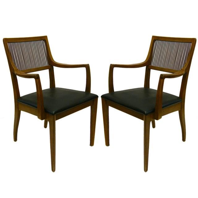 John Van Koert for Drexel Dining Chairs- Set of 8 - Image 2 of 4