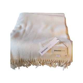 Johnstons Of Elgin 100% Cashmere Throw