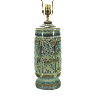 Art Pottery Table Lamp