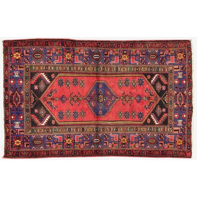"Apadana Persian Scatter Rug, 4'3"" X 6'10"" - Image 1 of 5"