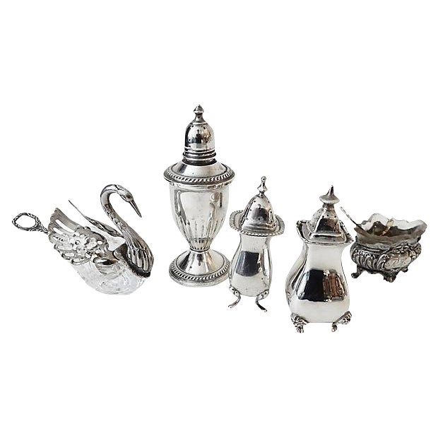 Salt & Pepper Shakers & Containers - 5 Pieces - Image 1 of 6