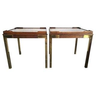 Drexel Heritage Side Tables - Pair