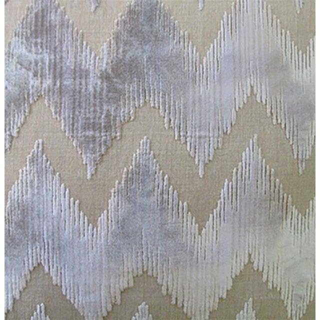 Lee Jofa Belgian Velvet Accent Pillows - a Pair - Image 2 of 2