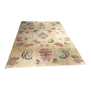 "Bellwether Rugs Distressed Turkish Zeki Muren Rug - 7'4"" X 10'9"""