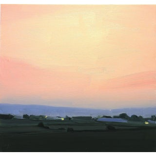 Kingsport Sunset, 2016, Oil on canvas by Sara MacCulloch.