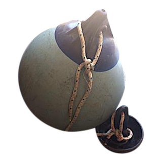 Vintage Boat Buoy With Anchor