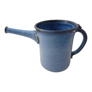 Mid-Century Studio Pottery Watering Can