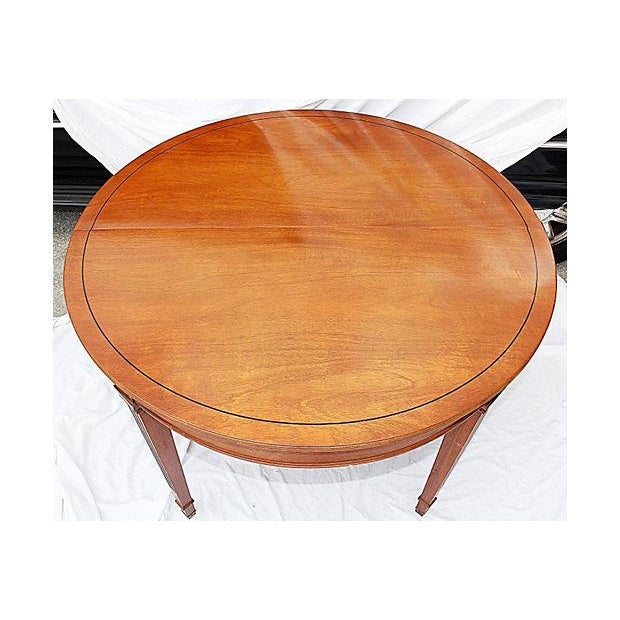 Henredon Heritage Mahogany Dining Table - Image 2 of 6