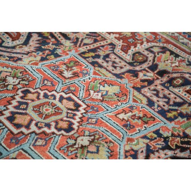 "Traditional Vintage Heriz Carpet - 8'2"" X 10'4"" - Image 9 of 10"