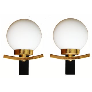 French Sconces, Circa 1970 - Pair