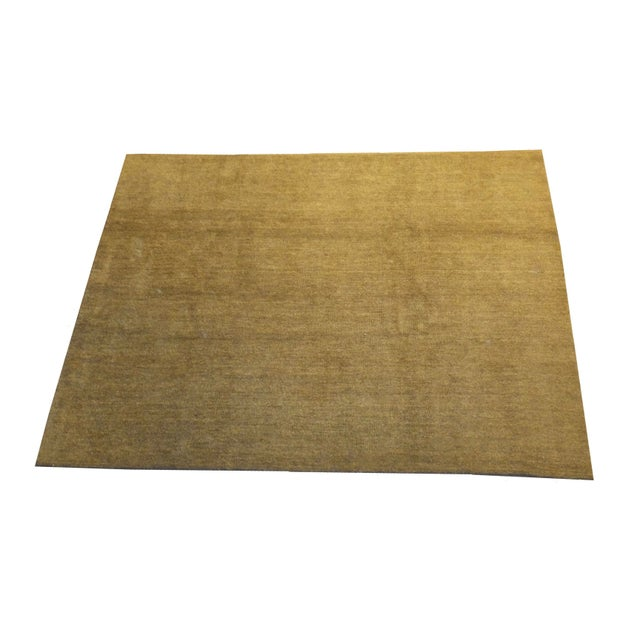 "Moroccan Camel Colored Rug - 10'8"" X 8'"