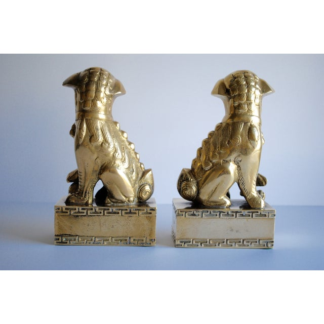 Brass Foo Dogs - Image 5 of 5