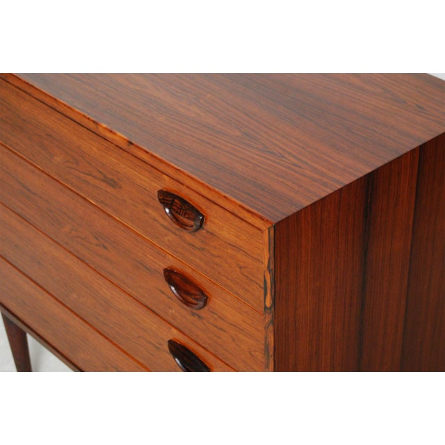 Image of Vintage Kai Kristiansen Danish Mid-Century Modern Rosewood Dresser