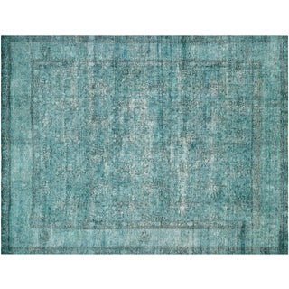 """Vintage Persian Overdyed Rug - 9'4""""x12'1"""""""