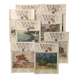 Touring Topics 1920s/'30s Magazine Issues - Set of 21