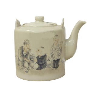 Chinese Filial Piety Decorative Teapot
