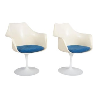 Model 151 Tulip Armchairs by Eero Saarinen for Knoll International - A Pair