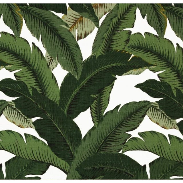 Green Swaying Palms Pillows W/Yellow Cording - S/4 - Image 2 of 2