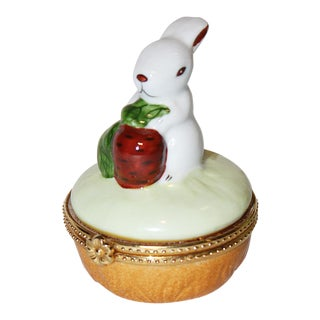 Bunny Rabbit Trinket Box