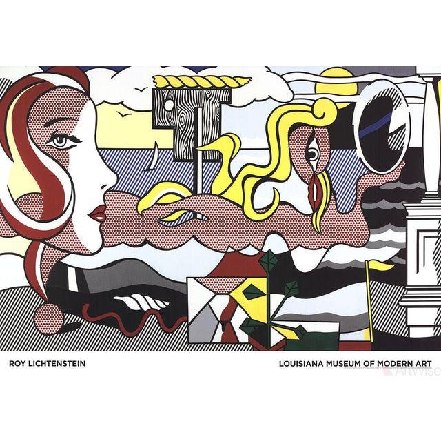 Roy Lichtenstein, Figures in Landscape, 2016 Poster - Image 2 of 2