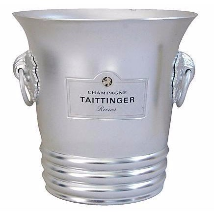 Vintage French Taittinger Champagne Ice Bucket - Image 1 of 4