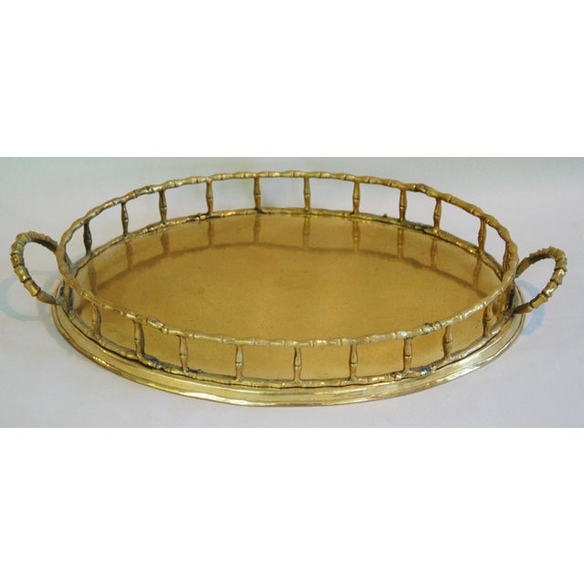 1960s Brass Cocktail Tray - Image 2 of 5