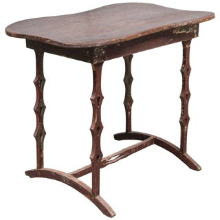 Unique American Folk Art Table, circa 1890's