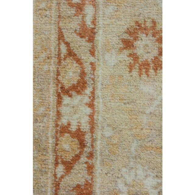 "New Traditional Hand Knotted Area Rug - 6'3"" x 9'4"" - Image 3 of 3"
