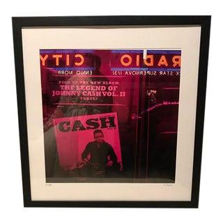 "Kristin Schillaci ""Johnny Cash Radio City"" Photograph"