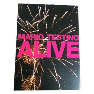 'Mario Testino: Alive' Coffee Table Book - Taschen