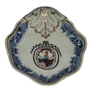 1960s Dragon Coat of Arms Soap Dish