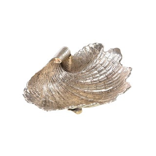 Douglas Rosin Sterling Silver Beautiful Shell center piece bowl -Hand Hammered