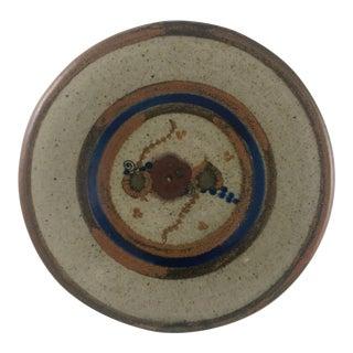 Mexican Tonala Folk Art Bowl