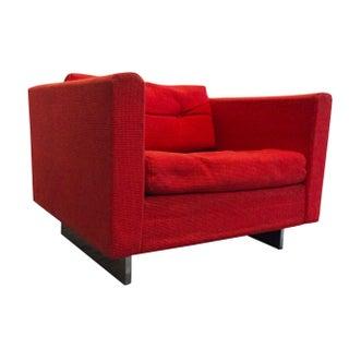 1960s Modern Knoll Style Modern Lounge Chair