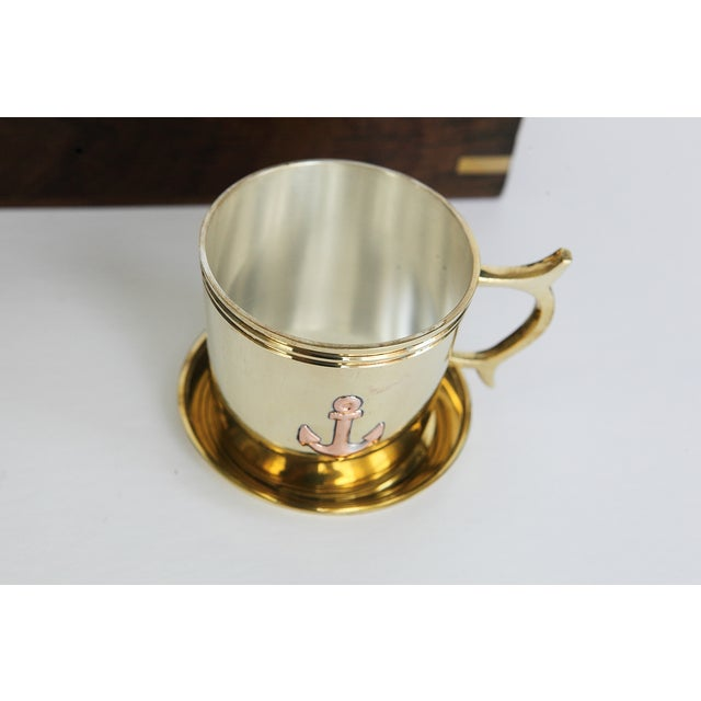 Nautical Captain's Cup and Saucer Box Set - Image 5 of 7