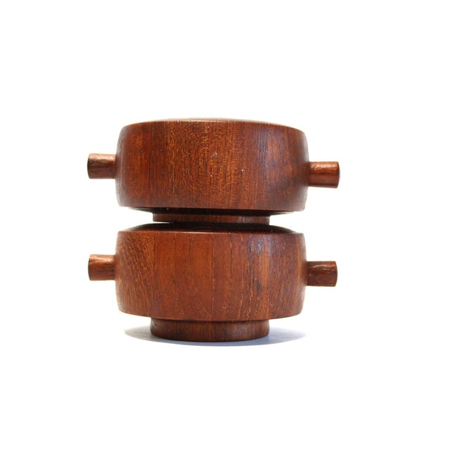 Dansk Jens Quistgaard Teak Salt & Pepper Mill - Image 7 of 7