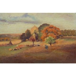 Plein Air Pastoral Painting