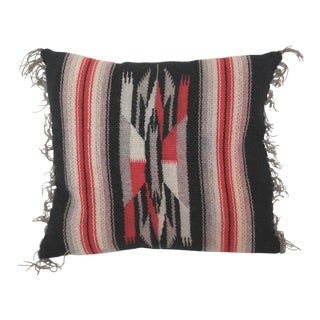 Navajo Feather Weaving Pillow