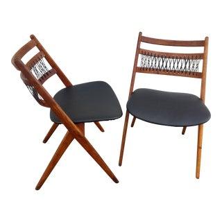 Arne Hovmand Olsen for Mogens Kold Chairs - A Pair