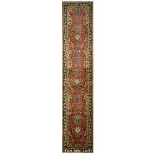 Vintage Persian Tabriz Rug - 3′2″ × 15′7″