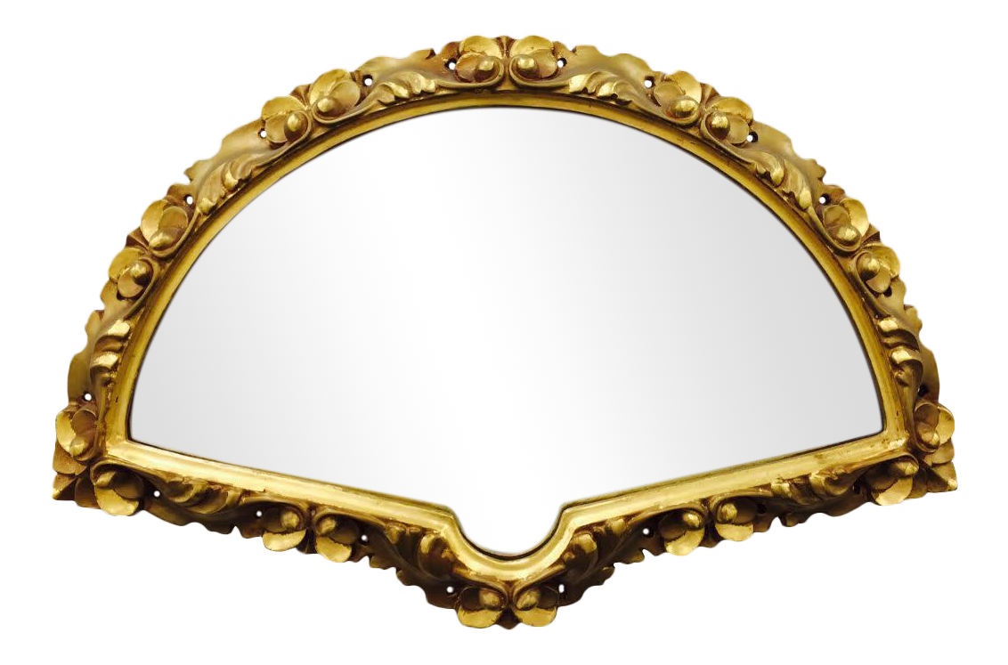 Antique Fan Shaped Gilded Gold Framed Mirror Chairish : antique fan shaped gilded gold framed mirror 0438aspectfitampwidth640ampheight640 from www.chairish.com size 640 x 640 jpeg 33kB