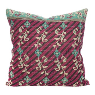 Moroccan Kantha Pillow