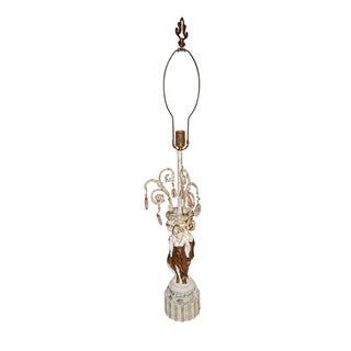 Hollywood Regency Greek Goddess Table Lamp