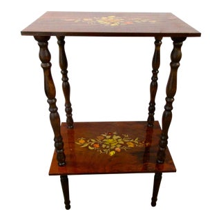 Italian Laquered Side Table