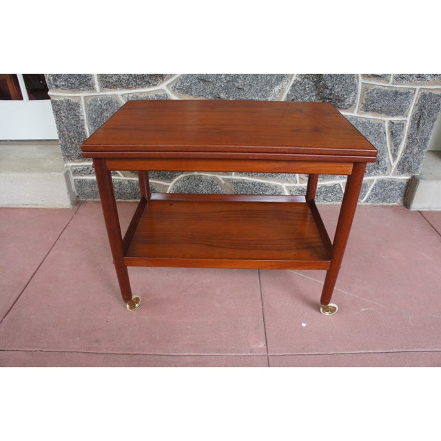 Image of Grete Jalk Teak Bar Cart