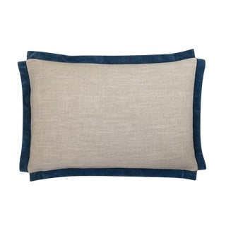 "Piper Collection Navy ""Michelle"" Pillow"