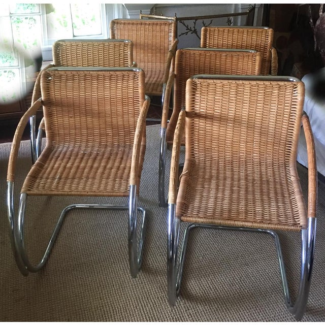 Image of MCM Mies Van Der Rohe - Mr 20 Chairs - Set of 6