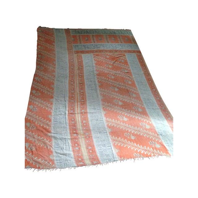 Vintage Indian Kantha Textile - Image 1 of 7