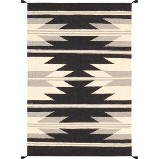 Navajo Hand-Woven Rug - 2′ × 3′1″